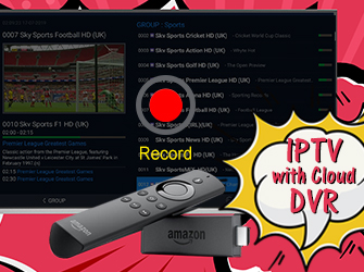 iptv service with cloud dvr